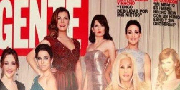 La tapa de Gente: el look de las divas en los Premios Martín Fierro