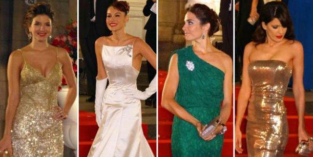 Las más lindas de la noche: Pampita, Kloosterboer, Juanita e Isabel Macedo