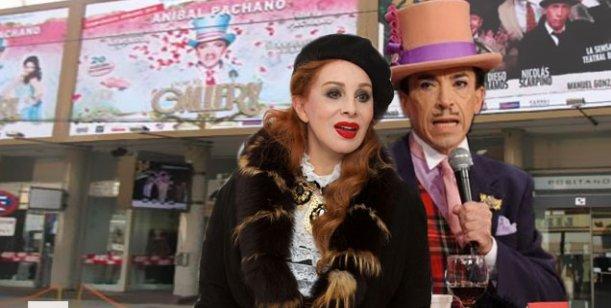 Pachano y Nacha harán teatro juntos: temen que se maten en camarines