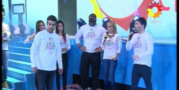 Un Sol para los chicos: Tenso momento entre Nicolás Cabré y La Masa