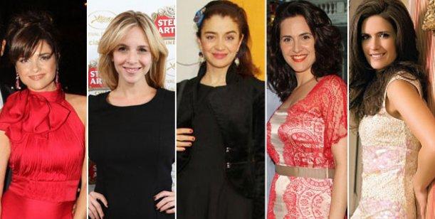 Guapas para El Trece 2014: Araceli, Peterson, Macedo, Julieta Díaz y Erica Rivas