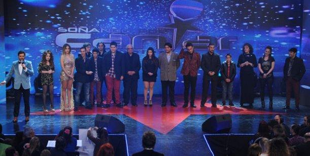 Noche con dos finalistas y festejo del Martín Fierro en Soñando por cantar