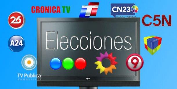 Elecciones 2013: la transmisión especial de los canales de aire y cable por las PASO