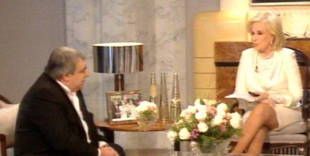 Mirtha a Pierri: Usted está inventando; ¿quién le paga? Nadie le cree; defiende a los malos
