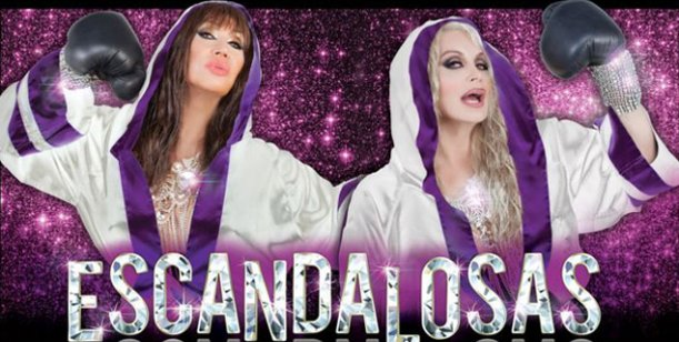La marquesina de Escandalosas, la revista de Carmen y Moria