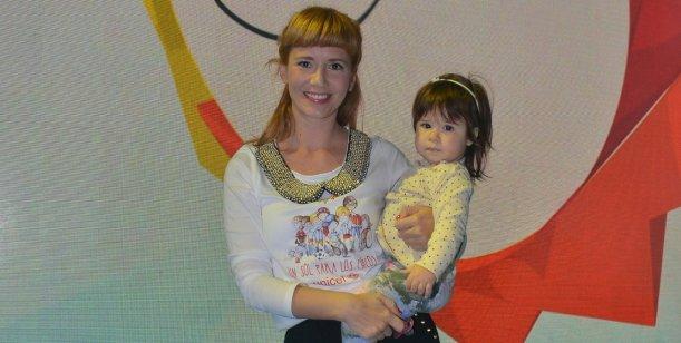 Griselda Siciliani presentó a Margarita, su primera hija con Adrián Suar