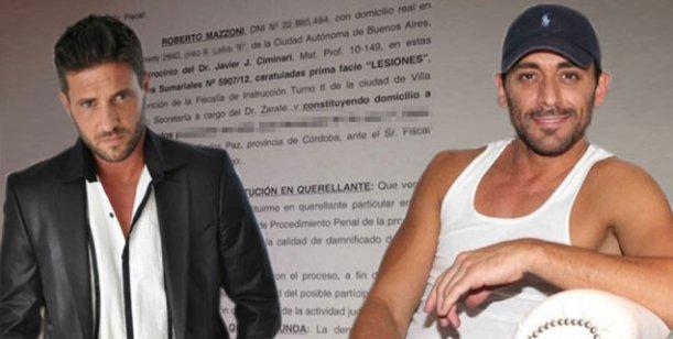 Roberto Mazzoni, ex de Piquín, redobla la apuesta: lo denunció por lesiones