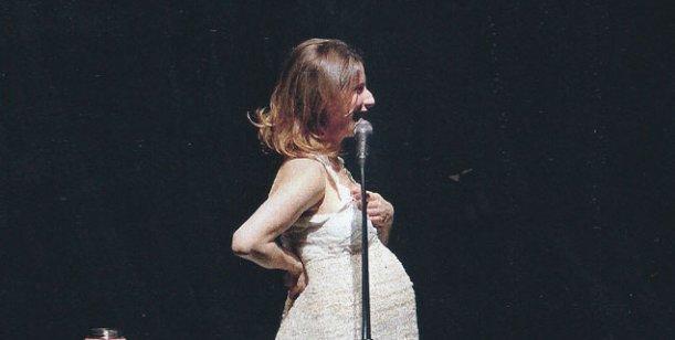 El último show de Elena Roger, a dos meses de ser mamá