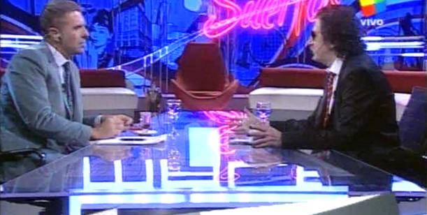 Charly García, en una charla íntima con Fantino: Palito Ortega me salvó la vida