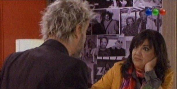 Vernaci  actuó en Viudas e Hijos... e ironizó con su salida de la Rock and Pop