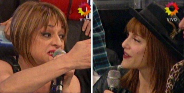 La pelea de Marcela Feudale y Connie Ansaldi llegó a Showmatch: No tenés código