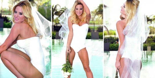 La sexy producción de Jésica Cirio y los detalles de su boda con Insaurralde