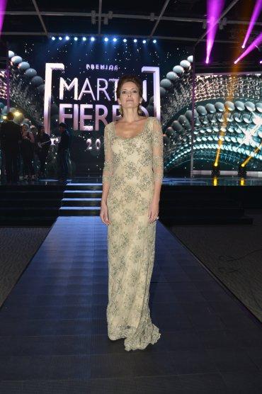 Los mejores vestidos en los mart n fierro 2015 for Ratingcero espectaculos