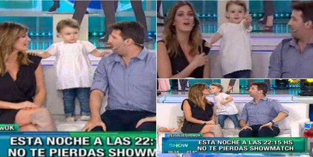 Olivia revolucionó Este es el Show: besos con Paula y bailó al ritmo de Lourdes