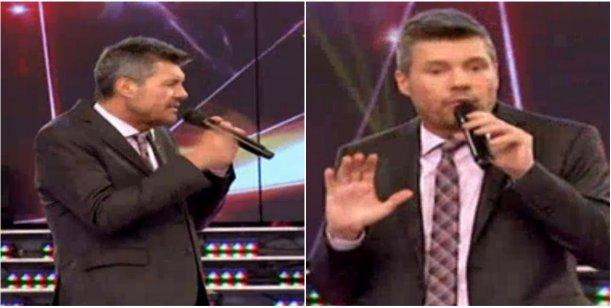 Las ironías y bromas de Tinelli a Ergun Demir tras la escandalosa eliminación