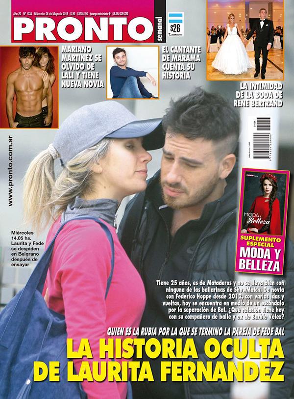 Laurita fern ndez enfurecida por la tapa de una revista for Revista pronto primicias ya