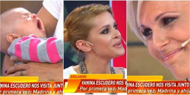 Vanina Escudero presentó a su hija en Infama y emocionó de Denise Dumas