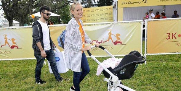 Rochi Igarzábal mostró por primera vez la cara de su hija