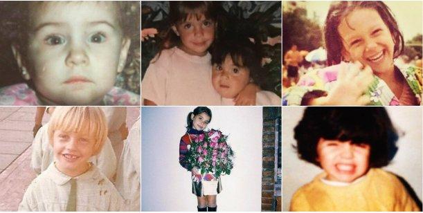 ¿Quiénes son estos pequeños famosos?