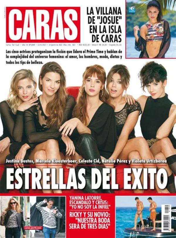 Las estrellas eva de dominici y jimena bar n en las tapas for Revistas del espectaculo