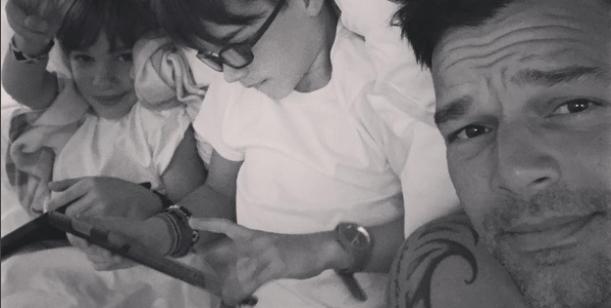 El mensaje de Ricky Martin junto a sus hijos por el Día del orgullo gay